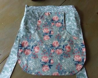 Clothespin Gathering Apron Organic Cotton