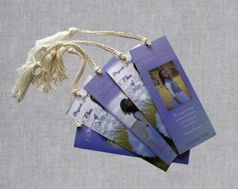 Graduation Favors - Graduation Bookmark - Custom Graduation Bookmarks - Graduation Photo Favors - Custom Party Favors - Thank You Bookmarks