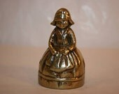 FREE SHIPPING vintage brass bell