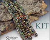 Karma Beadwoven Cuff Bracelet-  KIT