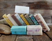 Handmade Soap Sample Pack - Small Hand Made Soap Bars