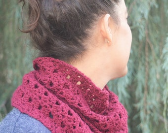 Infinity scarf Mauve