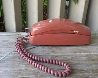 Mauve AT&T Touch Tone Princess Telephone