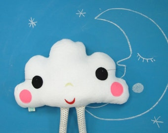 Plush Pillow Toy - Mrs Cloudine