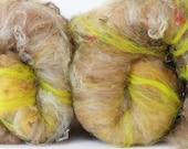 RESERVED FOR CRYS Tuolomne 3.2 oz  Wool - Merino- Art Batt // Wool Art Batt for spinning or needle felting