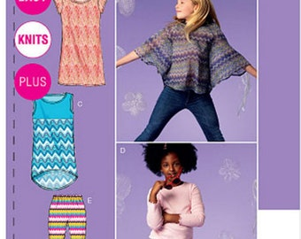 McCalls 6693 Sewing Pattern - Girls Plus Separates Sewing Pattern - M6693 Out of Print - Uncut, FF