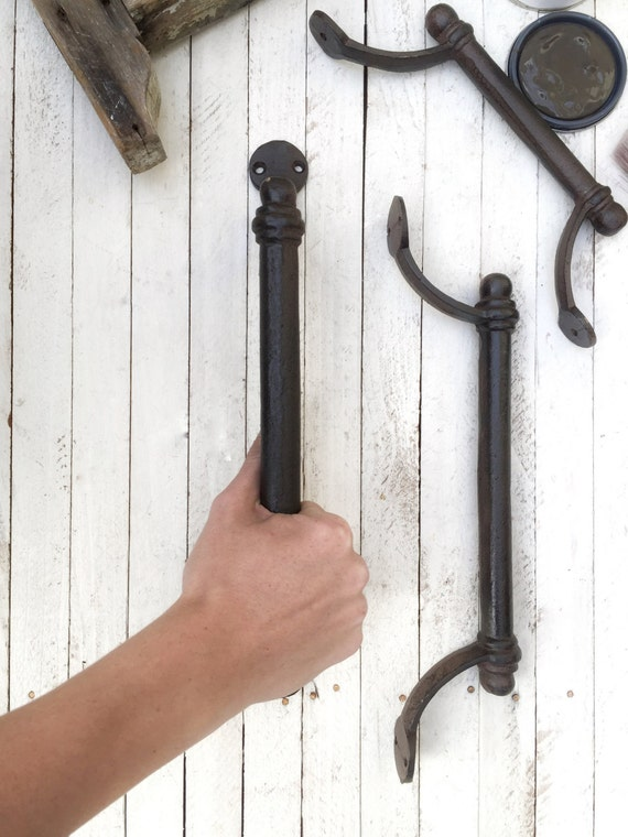 Large Iron Door Handle Towel Holderbarn Door Pull Home