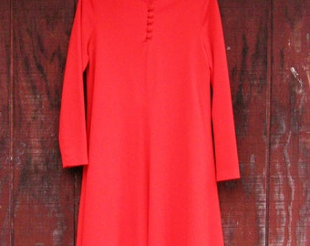 Gma - 1970s trapeze dress M L