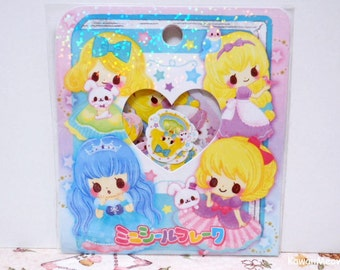 CRUX Sticker Flakes - Twinkle Tale Girls - 42 Pieces (05298)
