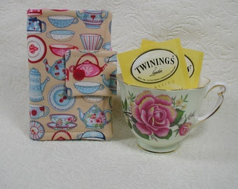 Tea Wallet ... Tea Time China in Natural