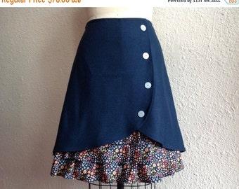 SALE Lucille ruffle front skirt Sz 12