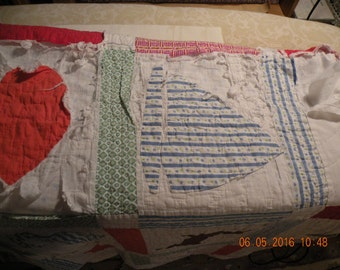 Quilt Repair and Remake - Quilt Finishing