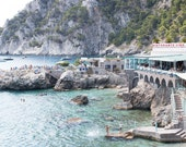 Italy Photography, Dive right in, Amalfi Coast, Italy, beach photography, Italian home decor, Beach, bedroom art, summer in amalfi