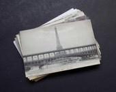 35 Paris, France Antique Postcards Lot - Carte Postale, Travel Themed, Wedding Registry (Unused)