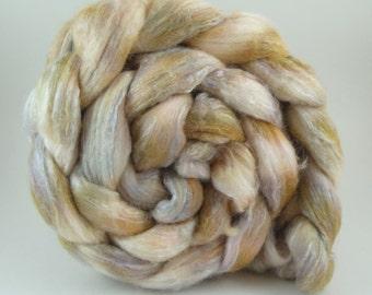 4oz Merino/Bamboo Rayon/Silk Combed Top - Soft Kitty