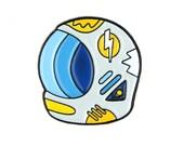 Space Helmet Enamel Pin