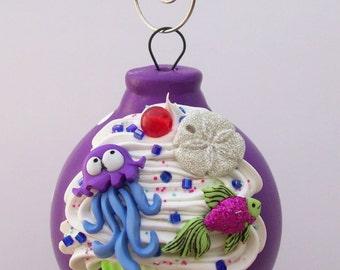 Purple Ornament Jellyfish Sea Creature