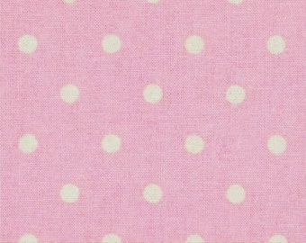 Nursery Rhyme Pink Dot, Pink Polka Dot, Springs Creative Fabrics, Designer Cotton Quilt Fabric, Quilting Fabric, SELECT A SIZE