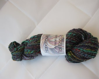 Handspun Yarn Worsted Weight 3.56 ounces