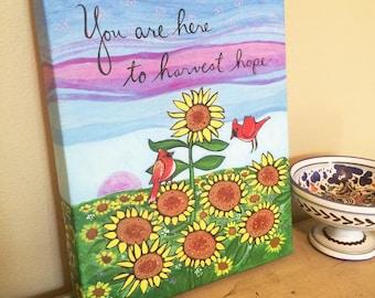 Canvas Print : Harvest Hope #6-IPCP