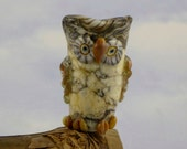 Who hoo are You ,  Owl bead for dreadlocks