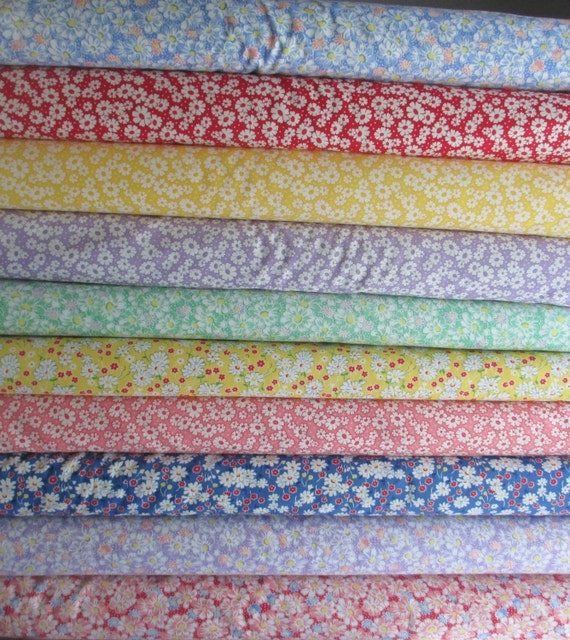 fabric reproduction 30s playtime yard moda half