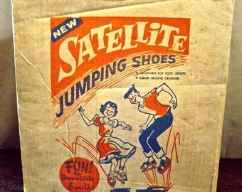 Mid Century Satellite Jumping Shoes by RAPCO