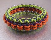 Chain Link Bracelet Kit - Neon Sunset (supplies and tutorial)