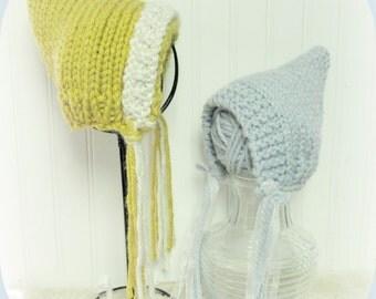 Little Pixie Hat  Pattern For Newborn to 3 Months, 6 Months to 12 Months Sizes