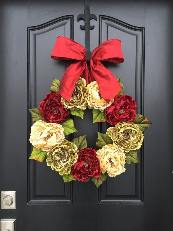 wreath sale black friday holiday wreaths xl by twoinspireyou. Black Bedroom Furniture Sets. Home Design Ideas