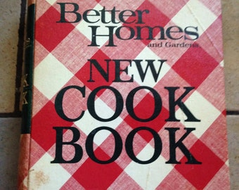 1973 Better Homes and Gardens New Cook Book
