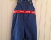 6 month Vintage Health-tex jean overall