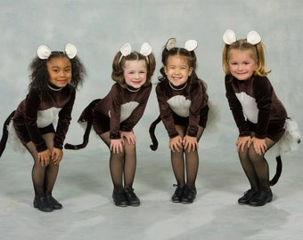 Dance Costumes Monkeys or other animals - CUSTOM Order