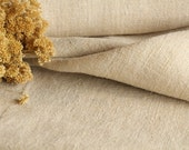 C 825 antique handloomed french lin grainsack fabric upholstery 11.69yards 20.47wide OATMEAL cushion