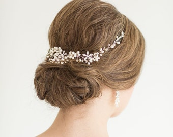 Wedding Hair Vine,  Bridal Headpiece, Bridal Hair Accessory