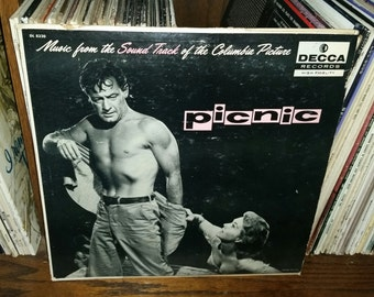 Picnic Vintage Vinyl Musical Soundtrack Record