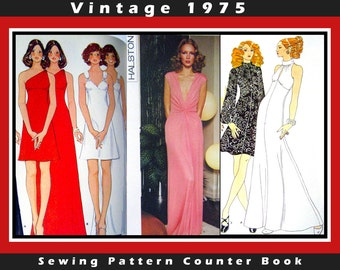 Vintage 1975-BIG Sewing Pattern Store Counter Catalog Book-Designer Fashions -Over 1400 Pages- Thousand of Fashion Designs- Mega Rare