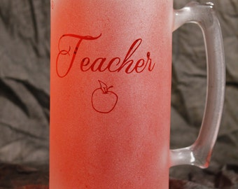 Teacher Great day or don't even ask Stein 26 oz