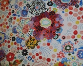 By The Yard quilting cotton fabric abstract print