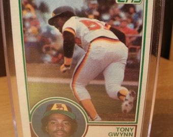 Tony Gwynn Topps Rookie #482 1983