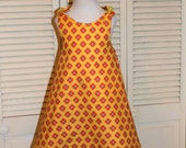 Yellow Swing Dress in size 2 and size 4