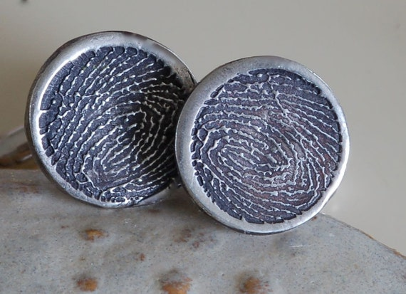 Digital Print from Funeral Home - Cufflinks