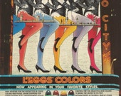 Vintage 1980s 1985 original magazine ad - Rockettes for L'Eggs hosiery ----Expires May 5, 2016 and will not be renewed----