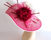 Hot Pink Ombre Derby Hat