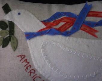 America hanging pillow, America door hanger, Americana