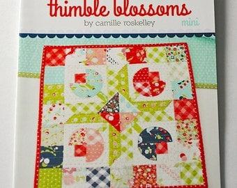 Flower Patch Mini Quilt pattern Thimble Blossom