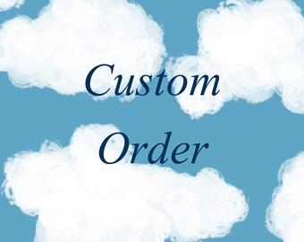 Custom Personalized Baby Blanket Lovie -Minky Baby Lovey Blanket,