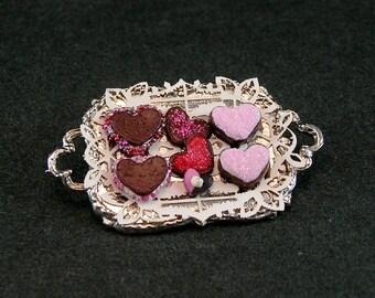Valentine Dessert Tray (1:12th scale)