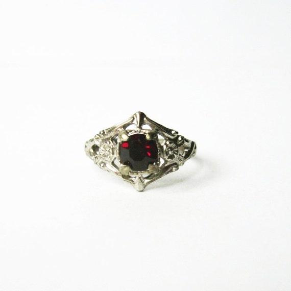 Sterling Kiddiegem Ring
