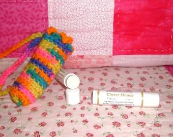 Clover Honey Lip Balm and Cuticle Softener